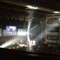 Photo taken at Mahaffey Theater by Amy J. on 2/2/2013