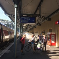 Photo taken at Stazione di Bellinzona by ソラシド on 9/10/2016