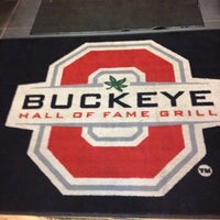 Photo taken at Buckeye Hall of Fame Grill by john s. on 10/27/2012