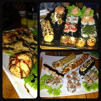 Photo taken at Hanbai Sushi Bar by Marcell S. on 7/13/2013