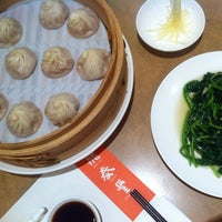 Photo taken at Din Tai Fung by Sasha M. on 5/19/2013