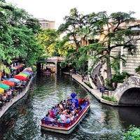 Photo taken at The San Antonio River Walk by Justin ⚓. on 6/18/2013