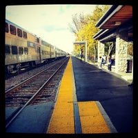 Photo taken at Metra - Highland Park by Katie L. on 10/10/2012