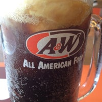Photo taken at Restaurant A&W Pekan by faiez h. on 10/1/2012