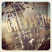 Photo taken at Universal Studios Hollywood Globe and Fountain by Alicia L. on 11/5/2012