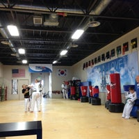 Photo taken at Lee's Taekwondo by Troy P. on 9/28/2013