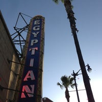 Photo taken at The Egyptian Theatre by Troy P. on 5/19/2013