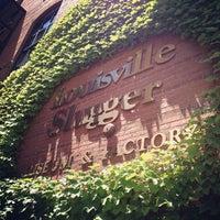 Photo taken at Louisville Slugger Museum & Factory by Karen F. on 7/28/2013