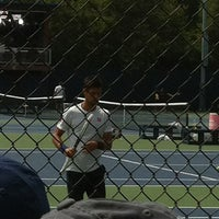 Photo taken at Practice Courts (1-5) - USTA Billie Jean King National Tennis Center by Andre C. on 8/26/2013