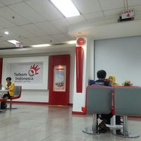 Photo taken at Plasa Telkom by Cinox on 4/1/2014