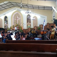 Photo taken at Bacolod Evangelical Church by JM on 4/26/2015