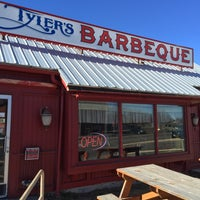 Photo taken at Tyler's Barbeque by Tim P. on 1/16/2015