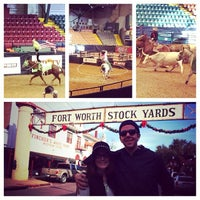 Photo taken at Stockyards Arena & Stables by Jennifer S. on 12/26/2013