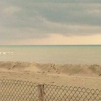 Photo taken at Marina Velca Beach by Francesco T. on 12/14/2014