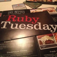 Photo taken at Ruby Tuesday by Corry R. on 3/6/2013