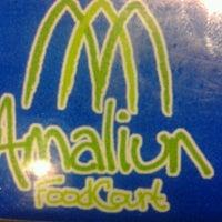 Photo taken at Amaliun Food Court by A Li P. on 10/3/2012