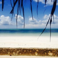 Photo taken at Sea Bar @ Uroa Bay Beach Resort by Cedric D. on 4/26/2015