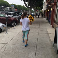 Photo taken at Larchmont Village by Alice C. on 8/7/2016