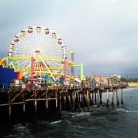 Photo taken at Santa Monica State Beach by jyatelier on 7/28/2013