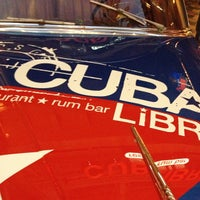 Photo taken at Cuba Libre Restaurant & Rum Bar by Jennifer A. on 10/13/2012