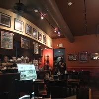 Photo taken at Rockn' Joe Coffeehouse & Bistro by Anna L. on 3/15/2016