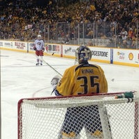 Photo taken at Bridgestone Arena by Bill F. on 2/8/2013