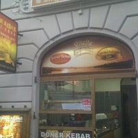 Photo taken at Döner Kebab Can Bey by Michal M. on 9/26/2012