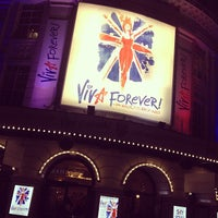 Photo taken at Piccadilly Theatre by Niki C. on 1/4/2013