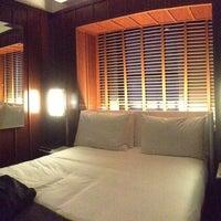 Photo taken at Hudson Hotel by Robert B. on 6/7/2013