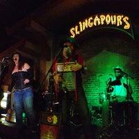 Photo taken at Slingapour's by Jen V. on 2/18/2013