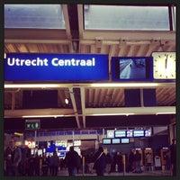 Photo taken at Station Utrecht Centraal by Rodrigo B. on 6/1/2013