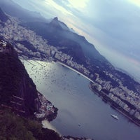 Photo taken at Mirante do Pão de Açúcar by Alex F. on 12/16/2012