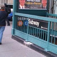 Photo taken at MTA Subway - 86th St (B/C) by Seb T. on 1/17/2013