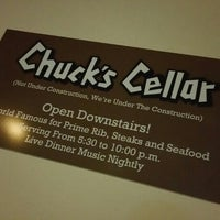 Photo taken at Chuck's Cellar by Stephen C. on 5/31/2015
