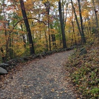 Photo taken at Sleeping Giant State Park by Greg S. on 10/21/2012