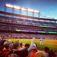 Photo taken at Coors Field by Taa D. on 5/31/2013