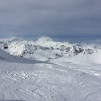 Photo taken at Val D'isere 3300 by Frédéric K. on 2/8/2016