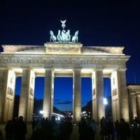 Photo taken at Pariser Platz by Marat K. on 10/28/2012