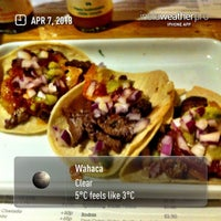 Photo taken at Wahaca by Donna K. on 4/7/2013