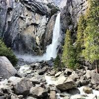 Photo taken at Lower Yosemite Falls by Kate G. on 3/26/2013
