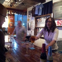 Photo taken at Thirsty Monk Pub & Brewery by Alex E. on 4/13/2013