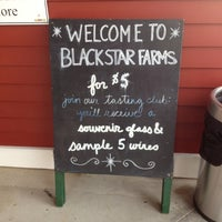 Photo taken at Black Star Farms Winery by Dee S. on 11/11/2012