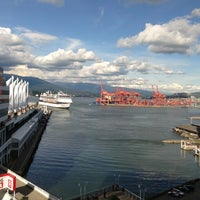 Photo taken at The Fairmont Waterfront by John T. on 5/25/2013