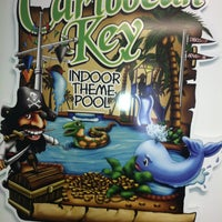 Photo taken at Caribbean Key Indoor Theme Pool by Lorrie W. on 4/4/2013
