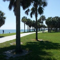 Photo taken at Vinoy Park by Vincent S. on 4/2/2013