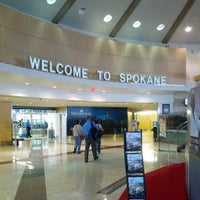 Photo taken at Spokane International Airport (GEG) by Dan P. on 9/14/2012