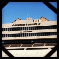 Photo taken at Folsom Field by Kris F. on 10/18/2012