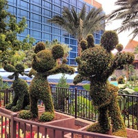 Photo taken at Disneyland Hotel by Ryan B. on 11/18/2012