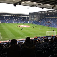 Photo taken at The Hawthorns by Alex H. on 1/7/2017