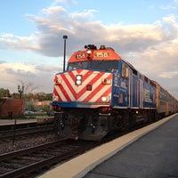 Photo taken at Metra - Barrington by Michael A. on 5/16/2013
